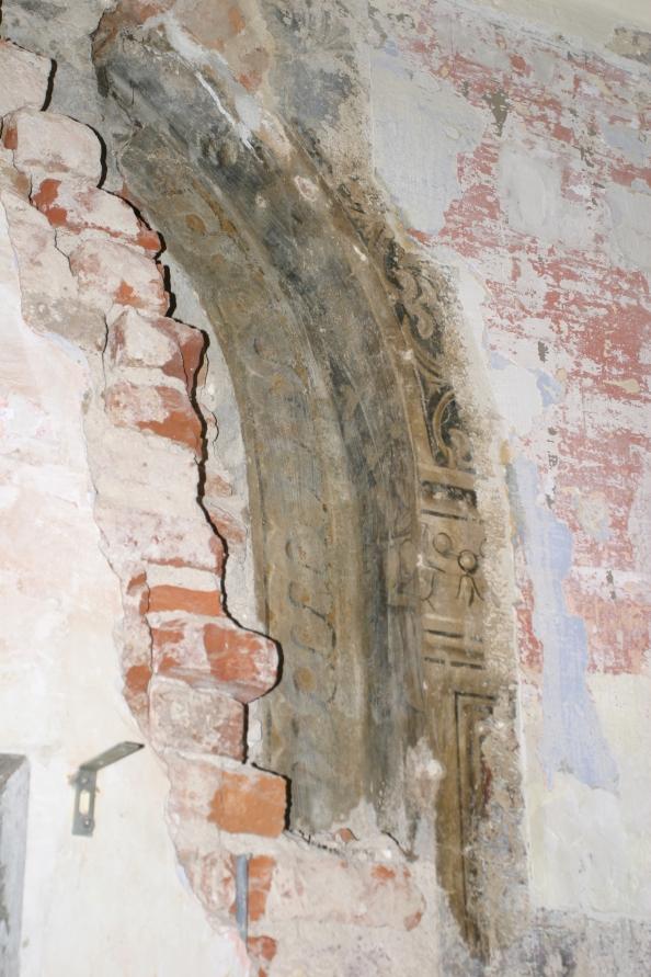 Piazza Ducale Vigevano – Recupero e restauro degli affreschi originali – Interno di Piazza Ducale n. 34 – Primaparte
