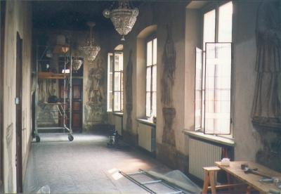 Azzate (VA) - Galleria dei ritratti - Villa Bossi-Riva-Cottalorda  oggi di proprietà della fam. Ghiringhelli
