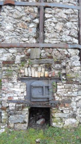 Uno dei quattro forni della Fornace Binda di Ispra (VA)