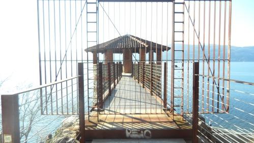Ispra (VA) - Fornace del molo del Pinett - Il ponticello usato per il carico