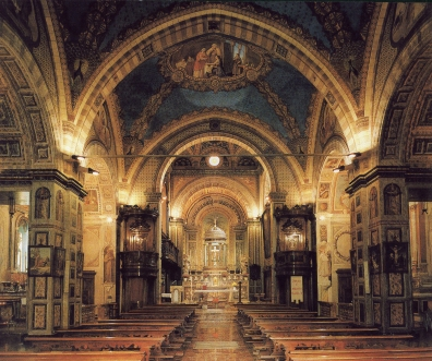 Interno della chiesa di Santa Maria Nascente ad Azzate