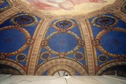 Particolare della volta dell'abside.