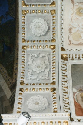 Sott'arco Cappella della Madonna. Dopo il restauro