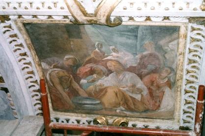 Cappella della Madonna. Natività di Maria (Isidoro Bianchi 1646). Dopo la pulitura