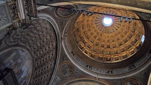 Santa Maria presso San Satiro Milano - Cupola del transetto e finta volta del coro