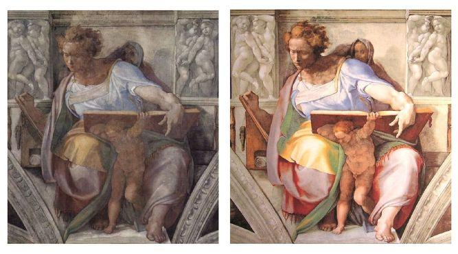 Michelangelo Buonarroti, Cappella Sistina, il profeta Daniele