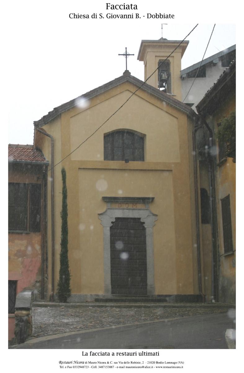 Chiesa di S. Giovanni Battista, fraz. Dobbiate, Daverio (VA)