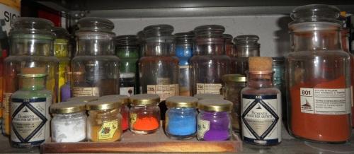 Colori in polvere