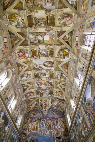 Michelangelo Buonarroti - Cappella Sistina, Roma