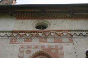 medaglione con busto di Beatrice d'Este a restauro ultimato