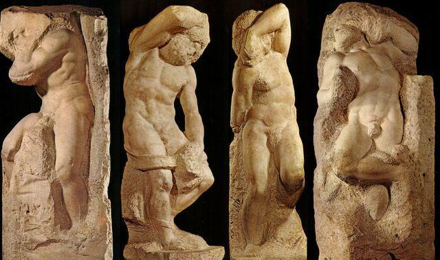 Michelangelo-I-Prigioni-di-Michelangelo