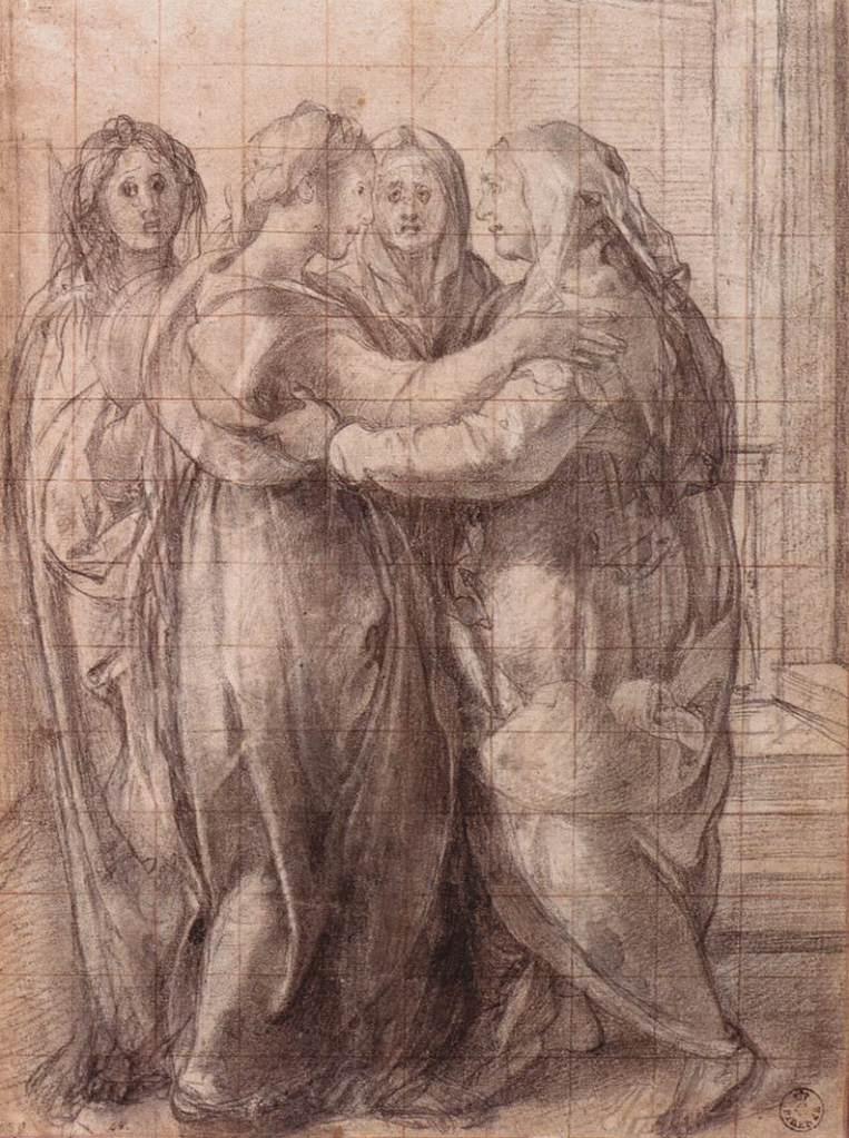 jacopo_pontormo_-_visitation_-_disegno-preparatorio-uffizi-gabinetto-dei-disegni-e-delle-stampe-n-461-f