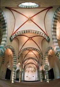 La Cervara - Abbazia di San Girolamo al Monte di Portofino. Interno chiesa.