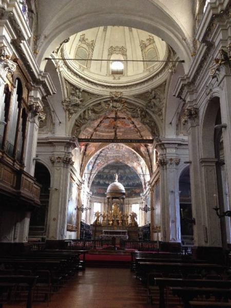 Chiesa di San Marco, piazza San Marco, Milano. Interno.