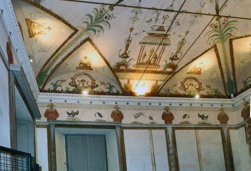 Palazzo Comunale di Ossona (Milano) Sala cinese