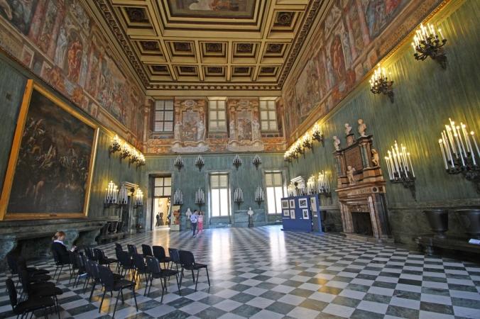 Salone della Guardia Svizzera, Palazzo Reale Torino.