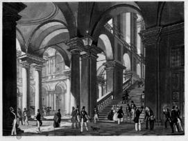 Milano. Palazzo di Brera ex Collegio dei Gesuiti Aschieri Guglielmo; Cherbuin Luigi; Mazzola Giuseppe; Sidoli Alessandro - Stampa