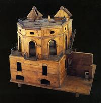 Modello in legno del nuovo osservatorio progettato da Boscovich. Il modello (delle dimensioni di circa 1m) fu costruito nel 1764 ed è attualmente esposto al Museo Nazionale della Scienza e della Tecnologia di Milano.